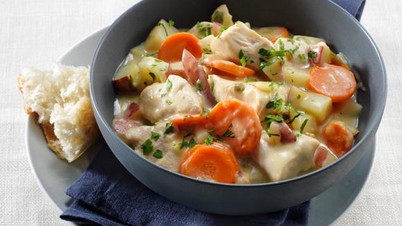 Creamy Chicken Stew Recipes  Creamy Leek Chicken Stew