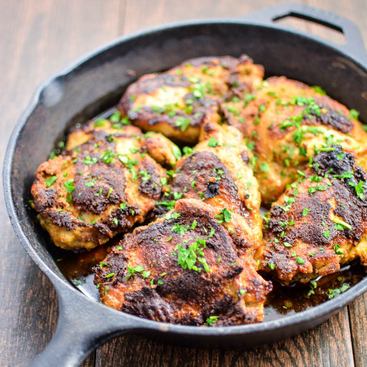 Crispy Chicken Thighs  Buttermilk Chipotle Crispy Chicken Thighs