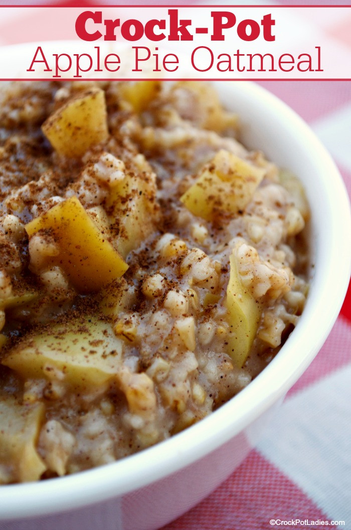 Crock Pot Apple Pie  Crock Pot Apple Pie Oatmeal Crock Pot La s