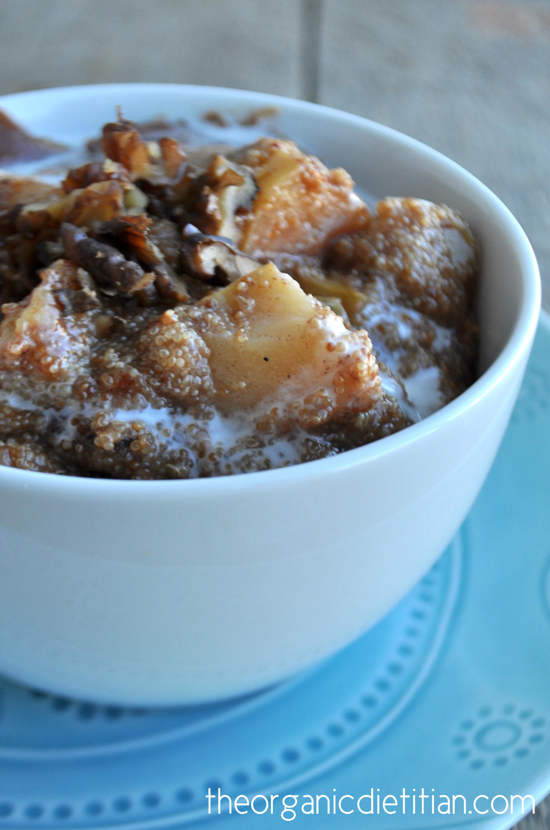 Crock Pot Apple Pie  Crock Pot Apple Pie Amaranth Porridge The Organic Dietitian