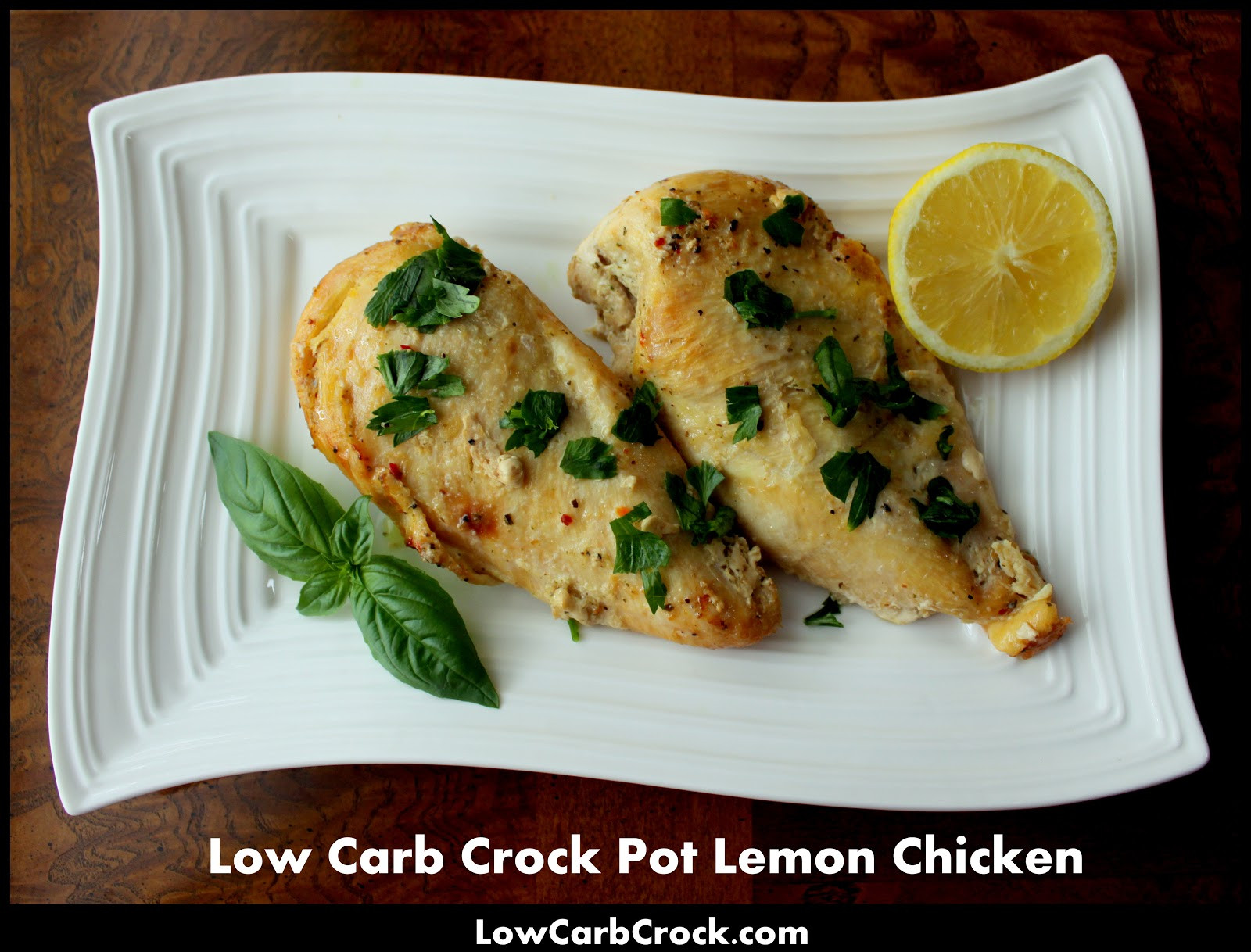 Crock Pot Chicken Breasts  Low Carb Crock Pot Lemon Chicken from frozen chicken breasts