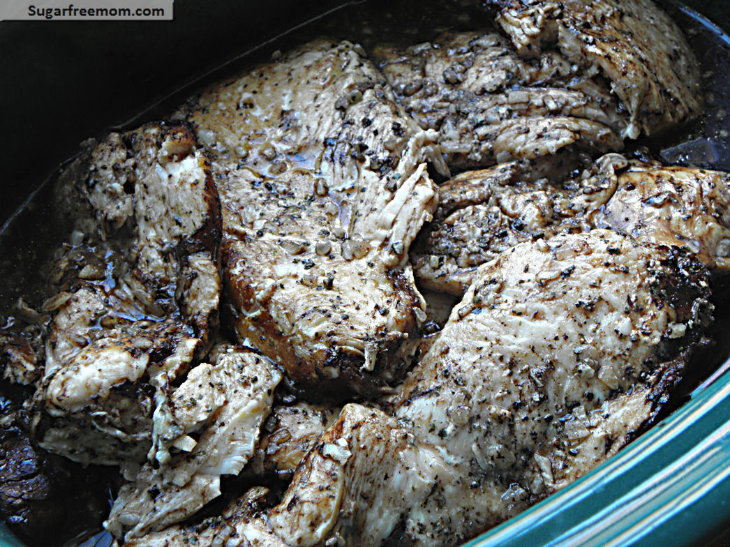 Crock Pot Chicken Breasts  Crock Pot Balsamic Chicken Breasts