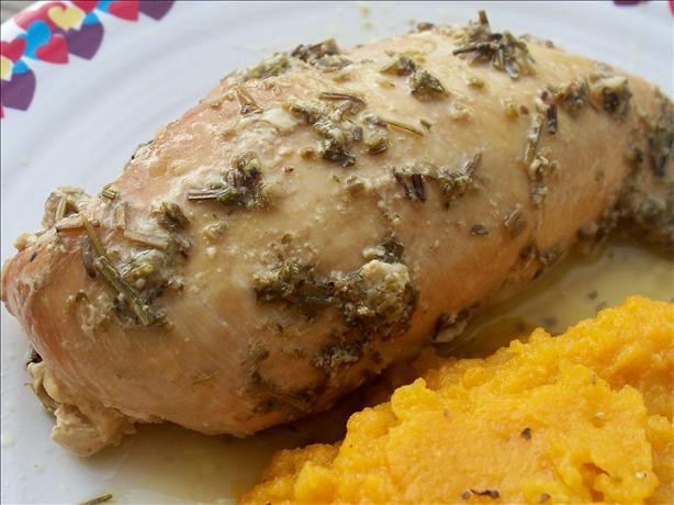 Crock Pot Chicken Breasts  Crock Pot Garlic Rosemary Chicken Breast Recipe Food