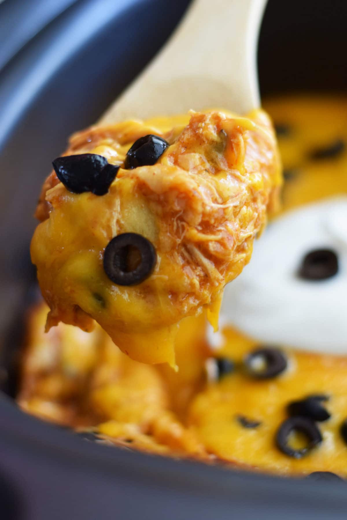 Crock Pot Chicken Enchiladas  Crock Pot Chicken Enchilada Casserole Soulfully Made