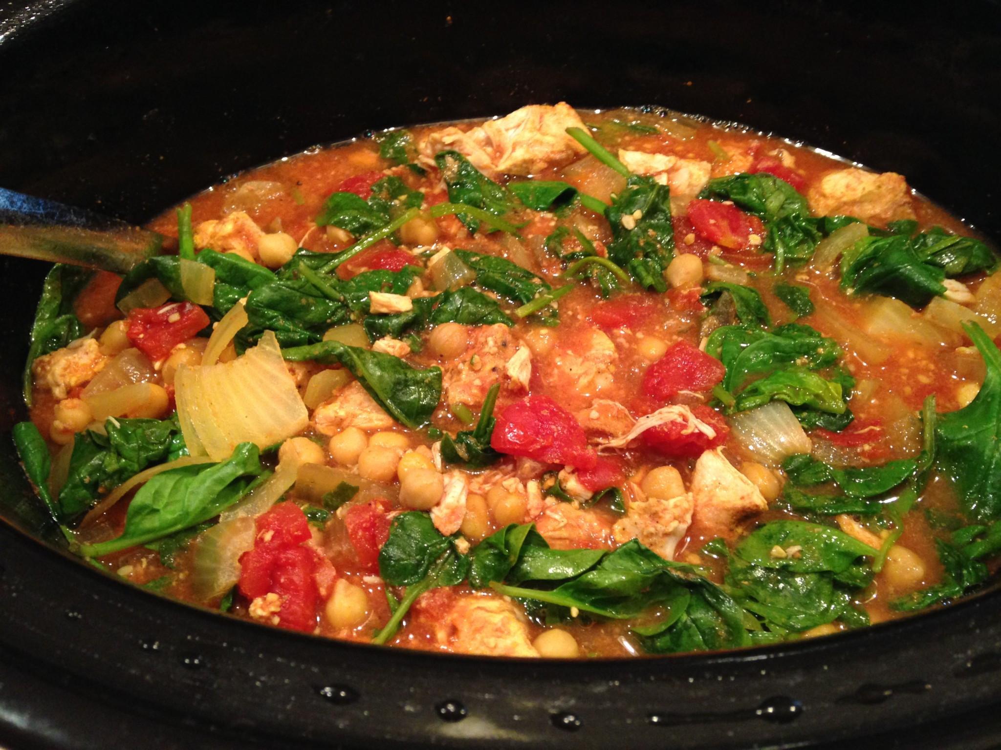Crock Pot Chicken Stew  Crock Pot Indian Chicken Stew