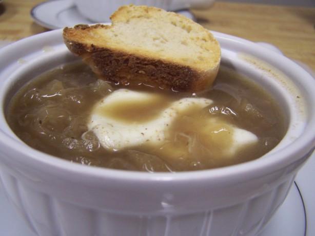 Crock Pot French Onion Soup  Crock Pot French ion Soup Recipe Food