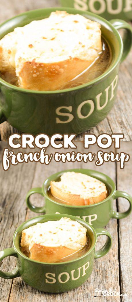 Crock Pot French Onion Soup  Crock Pot French ion Soup Recipes That Crock