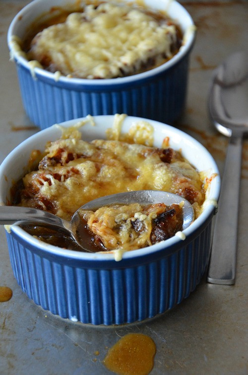Crock Pot French Onion Soup  Slow Cooker and Lighter French ion Soup Mountain