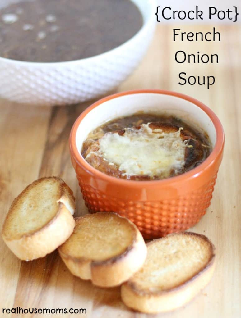 Crock Pot French Onion Soup  Crock Pot French ion Soup