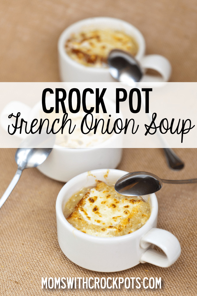 Crock Pot French Onion Soup  Crockpot French ion Soup Recipe — Dishmaps