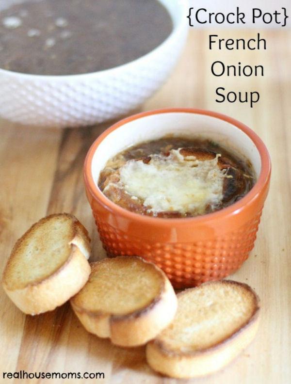Crock Pot French Onion Soup  Crock Pot French ion Soup My Honeys Place