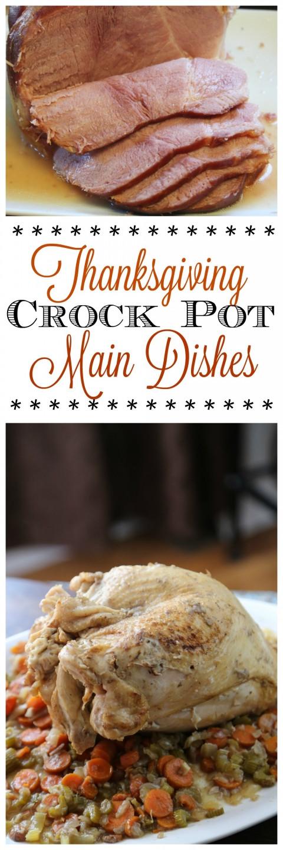 Crock Pot Main Dishes  Crock Pot Thanksgiving Recipes – Tammilee Tips