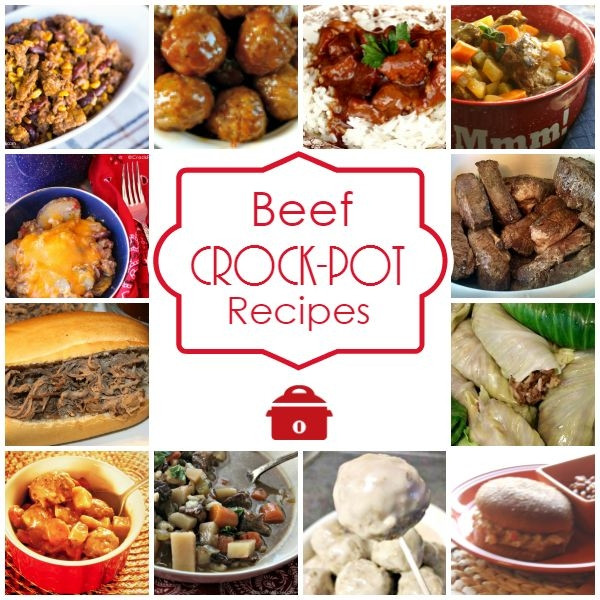 Crock Pot Main Dishes  Warm up to a hearty meal with these Crock Pot Beef Recipes
