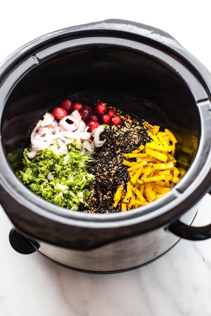 Crock Pot Main Dishes  Crock Pot Quinoa Pilaf Gluten Free Ve arian