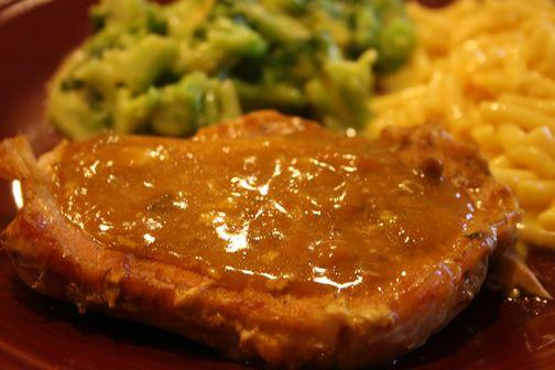 Crock Pot Pork Chops With Mushroom Soup  What s for Dinner Crockpot Golden Mushroom Pork Chops