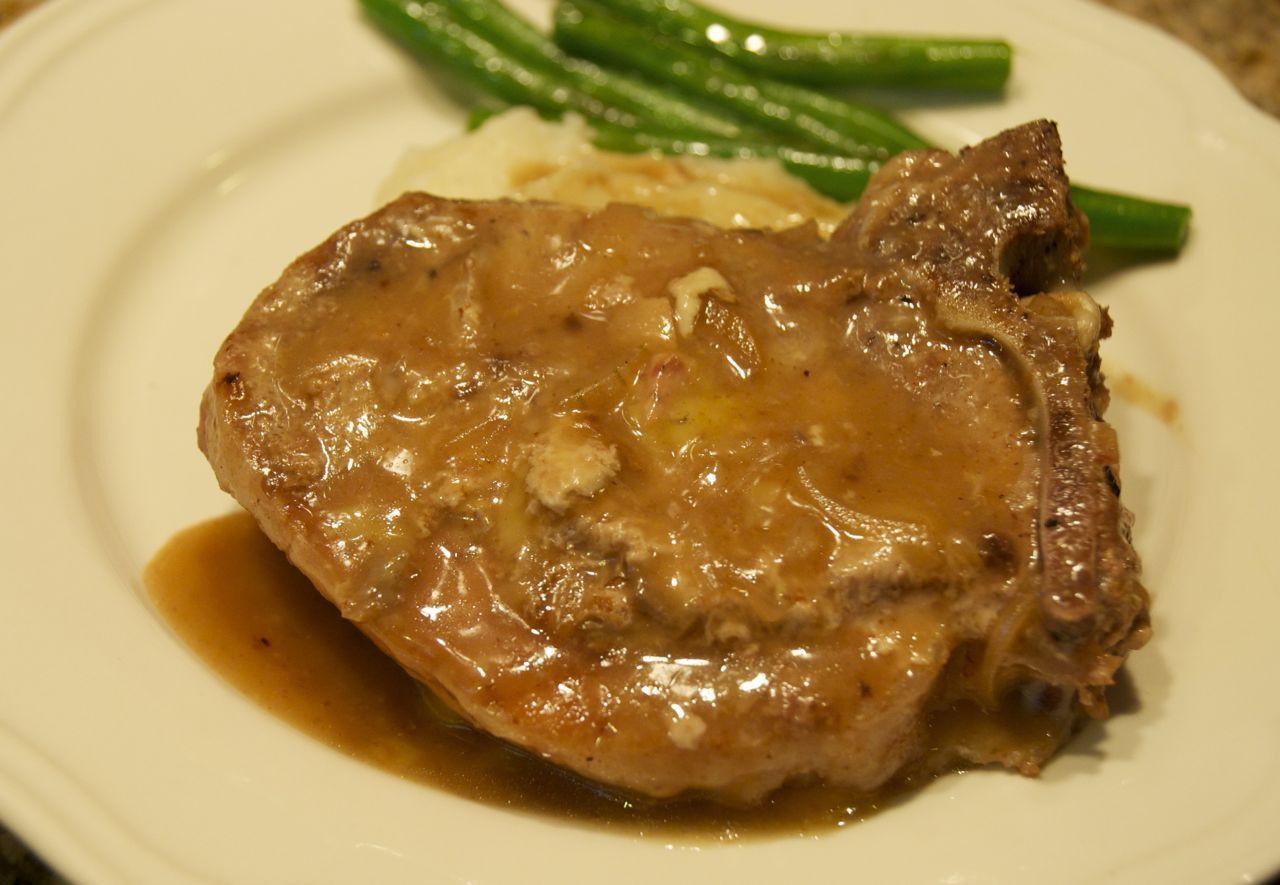 Crock Pot Pork Chops With Mushroom Soup  Hunk of Meat Monday Crock Pot Pepsi Pork Chops Beyer Beware