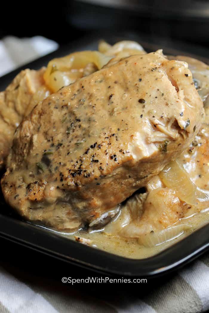 Crock Pot Pork Chops With Mushroom Soup  Crock Pot Pork Chops An Absolute Favorite Spend with