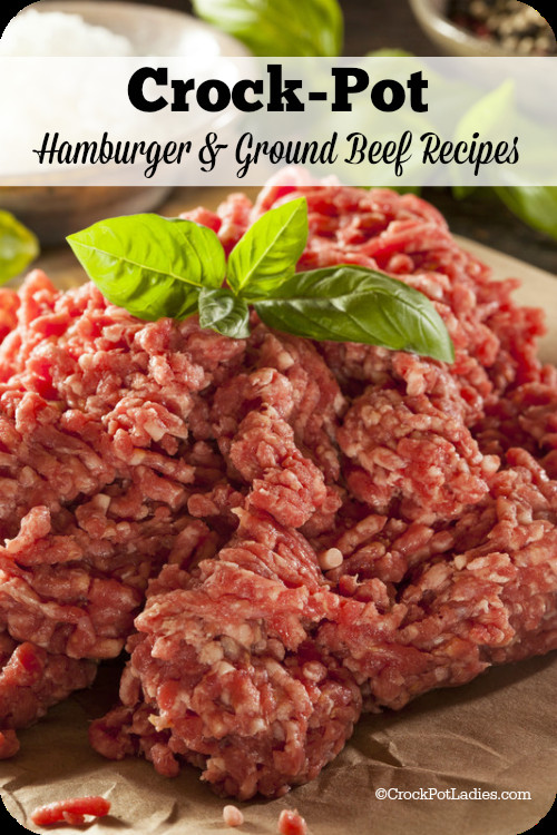Crock Pot Recipes With Ground Beef  Crock Pot Hamburger Ground Beef Recipes Crock Pot La s