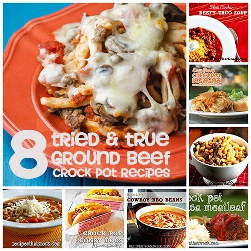 Crock Pot Recipes With Ground Beef  8 Tried & True Ground Beef Crock Pot Recipes Recipes