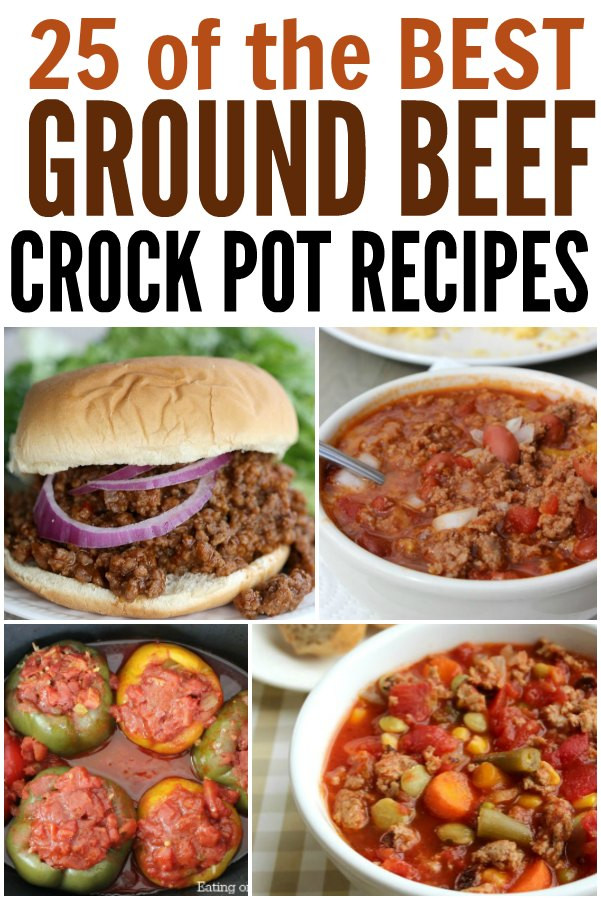 Crock Pot Recipes With Ground Beef  25 Frugal Ground Beef Crock Pot Recipes Coupon Closet