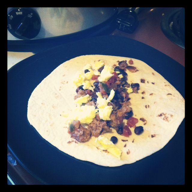 Crockpot Breakfast Burritos  101 Best images about Crock pot on Pinterest