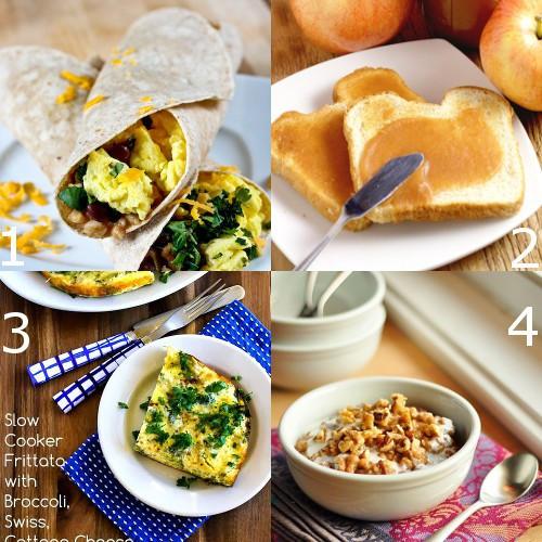 Crockpot Breakfast Burritos  28 Crockpot Breakfast Recipes