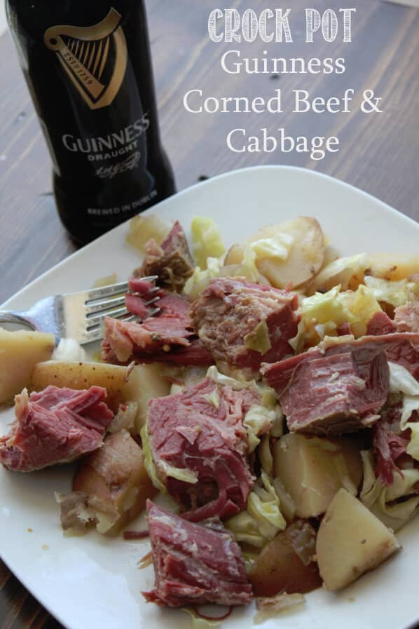 Crockpot Corn Beef And Cabbage  25 St Patrick s Day Dinner & Drink Recipes Flavor Mosaic