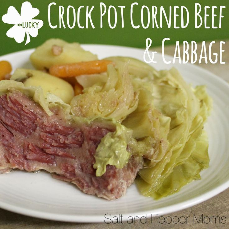 Crockpot Corn Beef And Cabbage  Crock Pot Corned Beef And Cabbage Recipe — Dishmaps