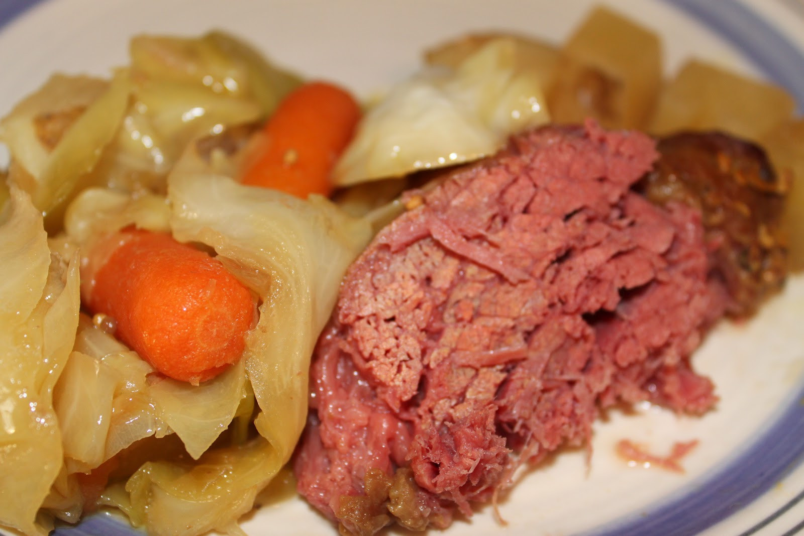 Crockpot Corn Beef And Cabbage  Two Maids a Milking