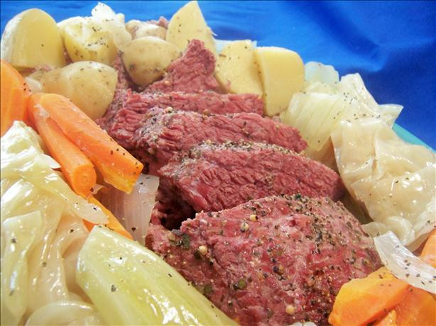 Crockpot Corn Beef And Cabbage  Corned Beef And Cabbage Crock Pot Recipe Food