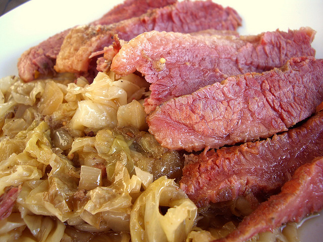 Crockpot Corn Beef And Cabbage  Corned Beef and Cabbage Crock Pot Recipe