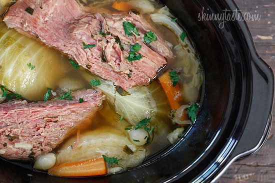 Crockpot Corn Beef And Cabbage  Crock Pot Corned Beef and Cabbage