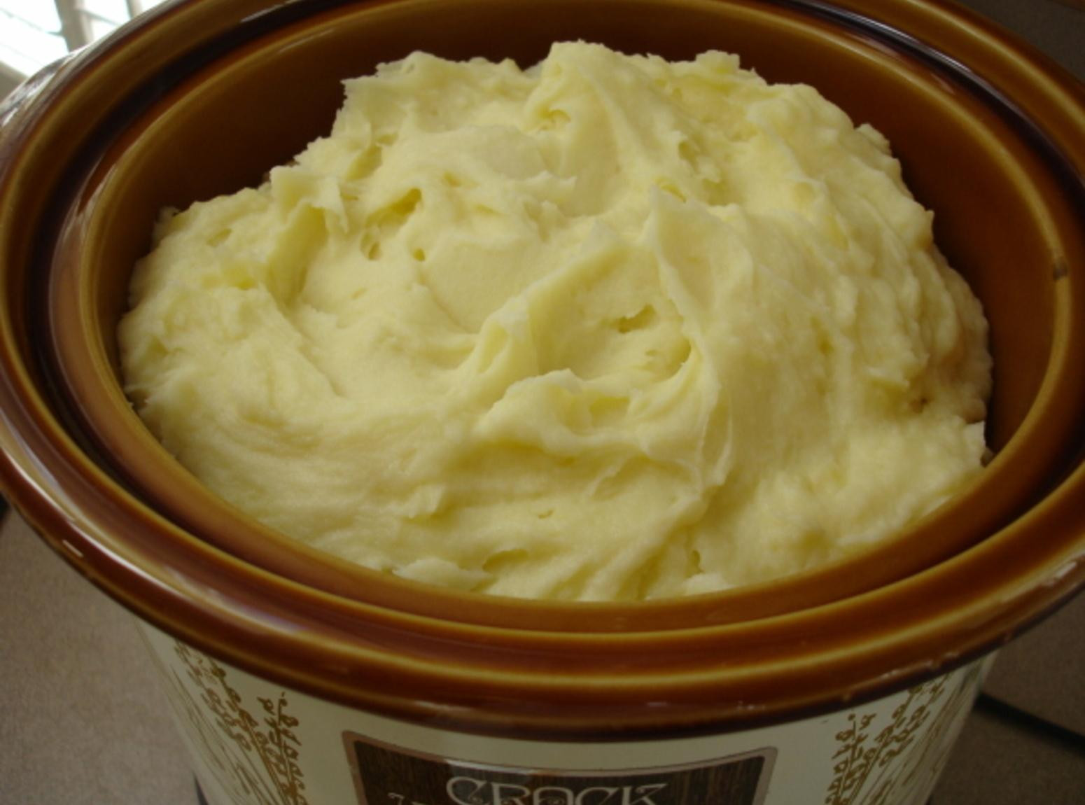 Crockpot Mashed Potatoes  Crock Pot Mashed Potatoes Recipe