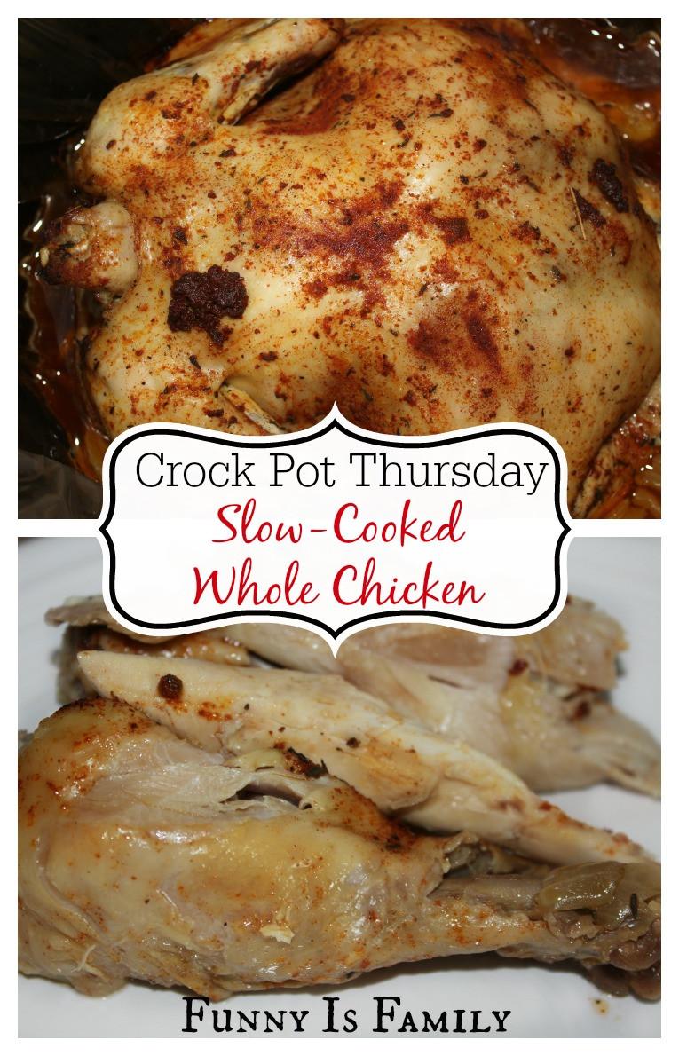 Crockpot Whole Chicken Recipes  Crock Pot Whole Chicken