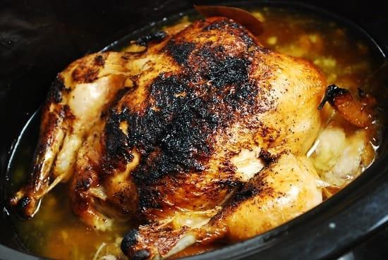 Crockpot Whole Chicken Recipes  Crock Pot Rotisserie Chicken Recipe – 3 Points LaaLoosh