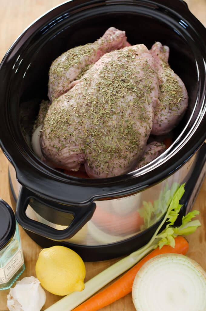 Crockpot Whole Chicken Recipes  Crockpot Whole Chicken Slow Cooker Chicken