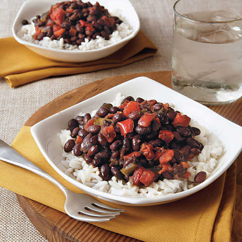 Cuban Rice And Beans  Cuban Beans and Rice Ve arian Slow Cooker Recipes