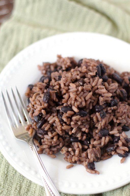 Cuban Rice And Beans  Arroz Congri Cuban Rice And Black Beans Recipe — Dishmaps