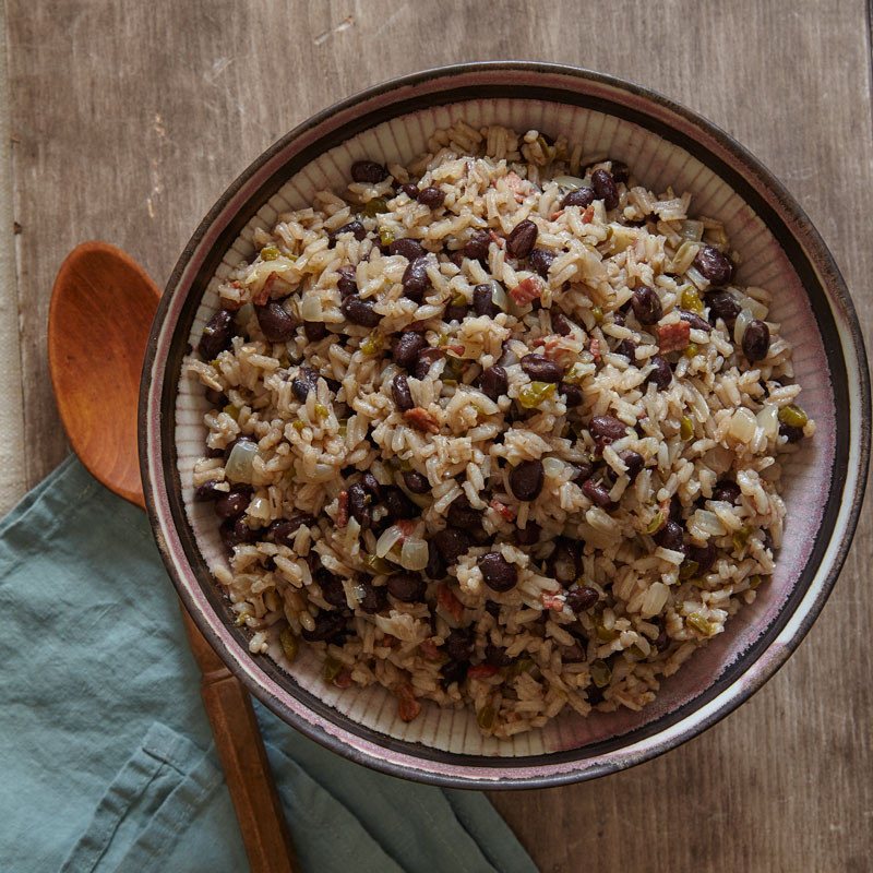 Cuban Rice And Beans  Cuban Rice and Black Beans