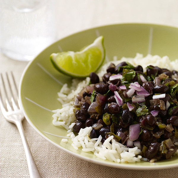 Cuban Rice And Beans  Cuban Beans And Rice Recipe — Dishmaps