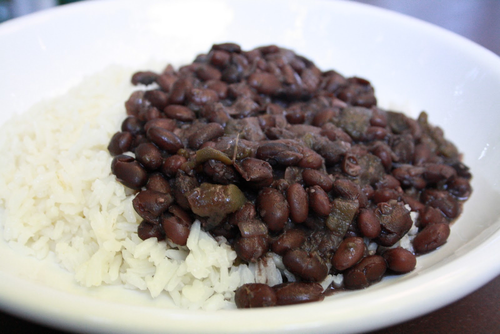 Cuban Rice And Beans  The Learning Curve Cuban Black Beans & Rice