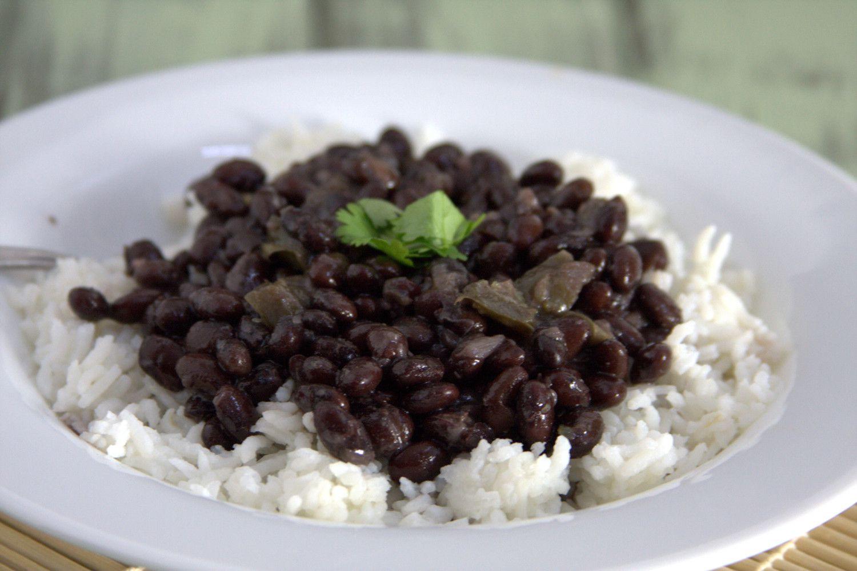 Cuban Rice And Beans  Cuban Black Beans Goo Godmother A Recipe and