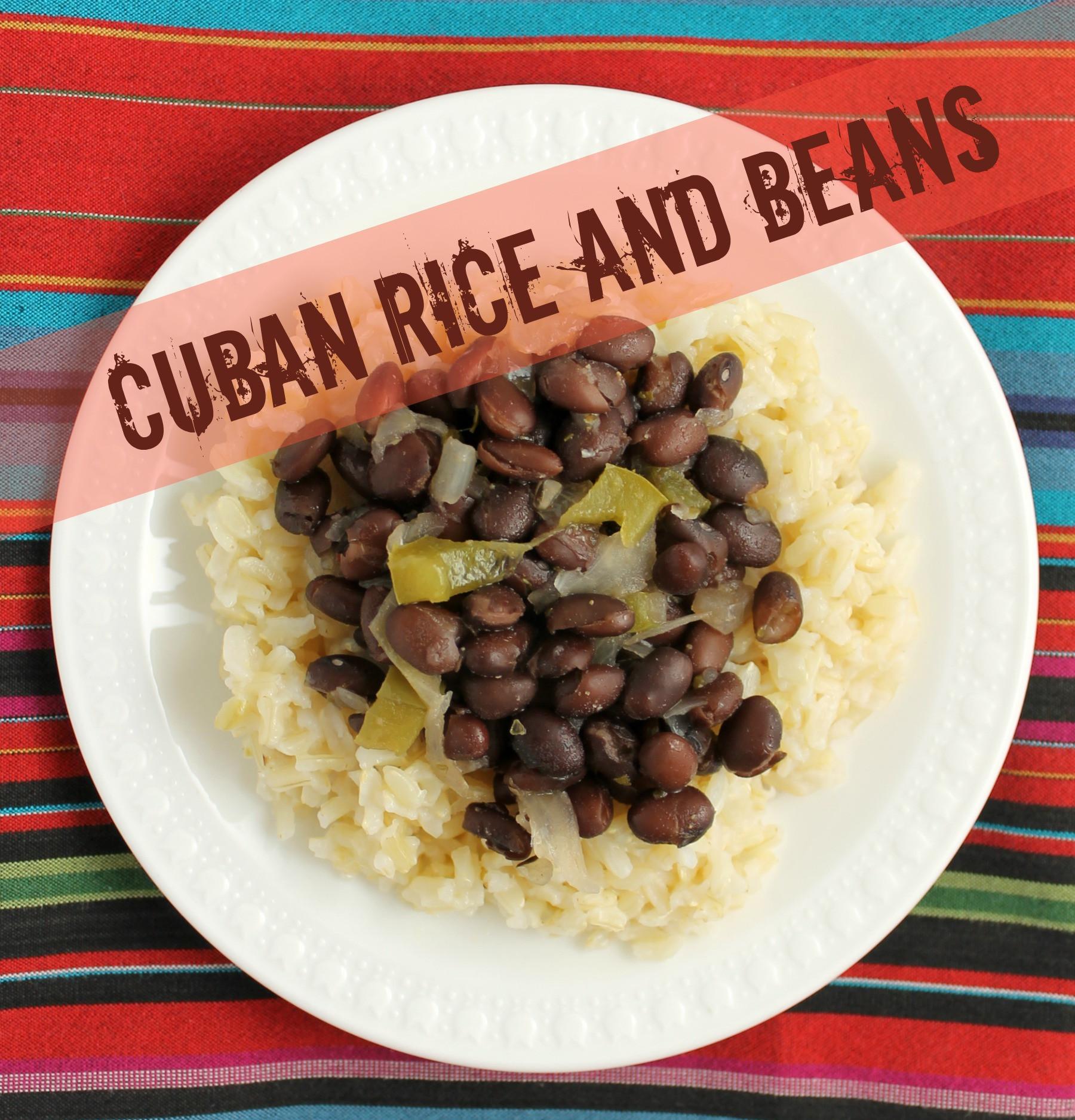 Cuban Rice And Beans  Cuban Rice and Beans
