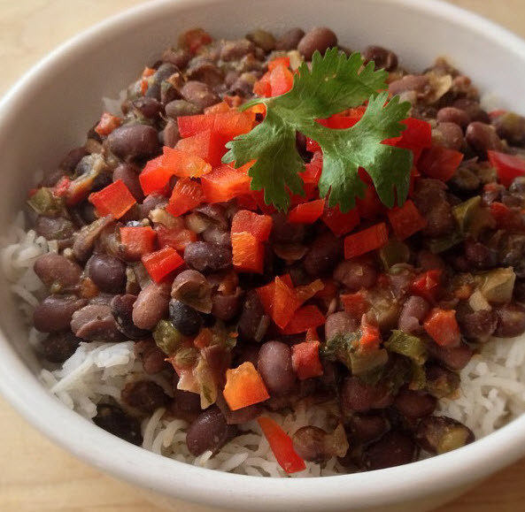 Cuban Rice And Beans  Cuban Black Beans and Rice