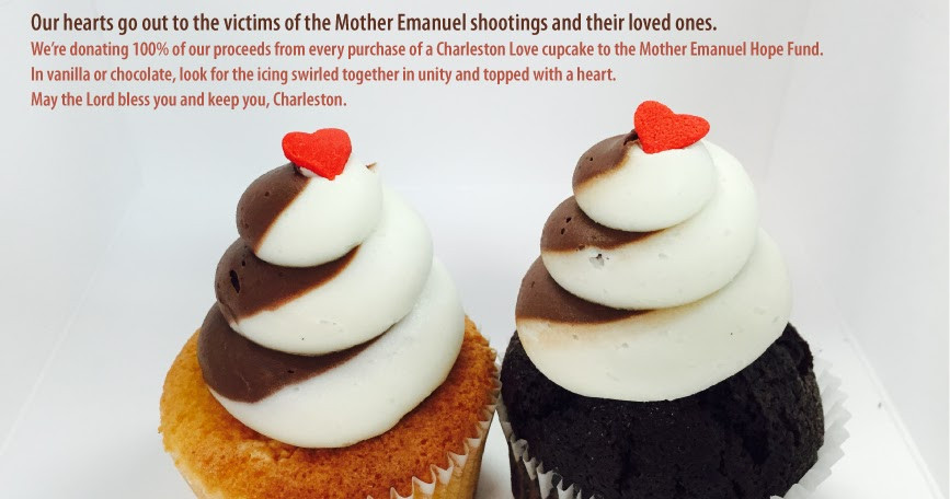 Cupcakes Down South  Cupcakes Down South Raises Money For Charleston Victims