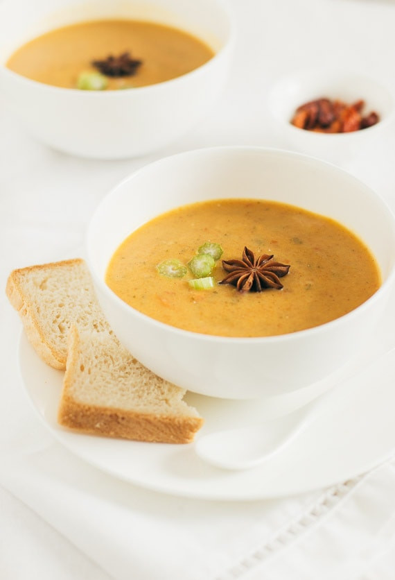Curried Carrot Soup  Curried Carrot Soup Pretty Simple Sweet