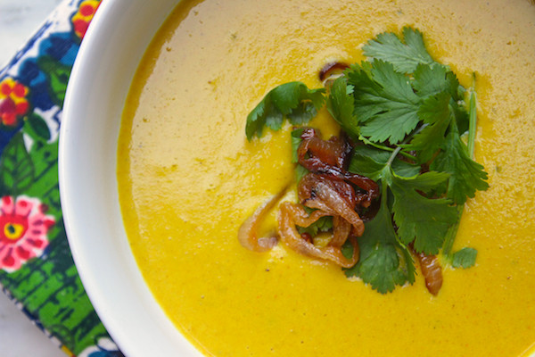 Curried Cauliflower Soup  Curried Cauliflower Soup Shutterbean