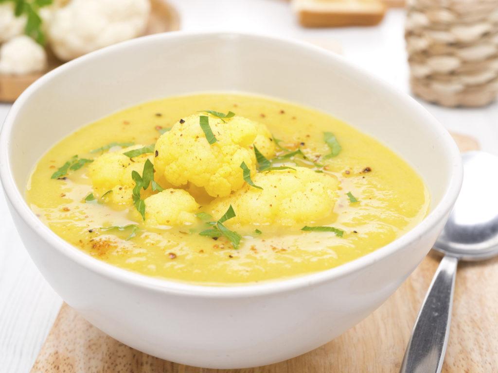 Curried Cauliflower Soup  Curried Cauliflower Soup Dr Weil s Healthy Kitchen