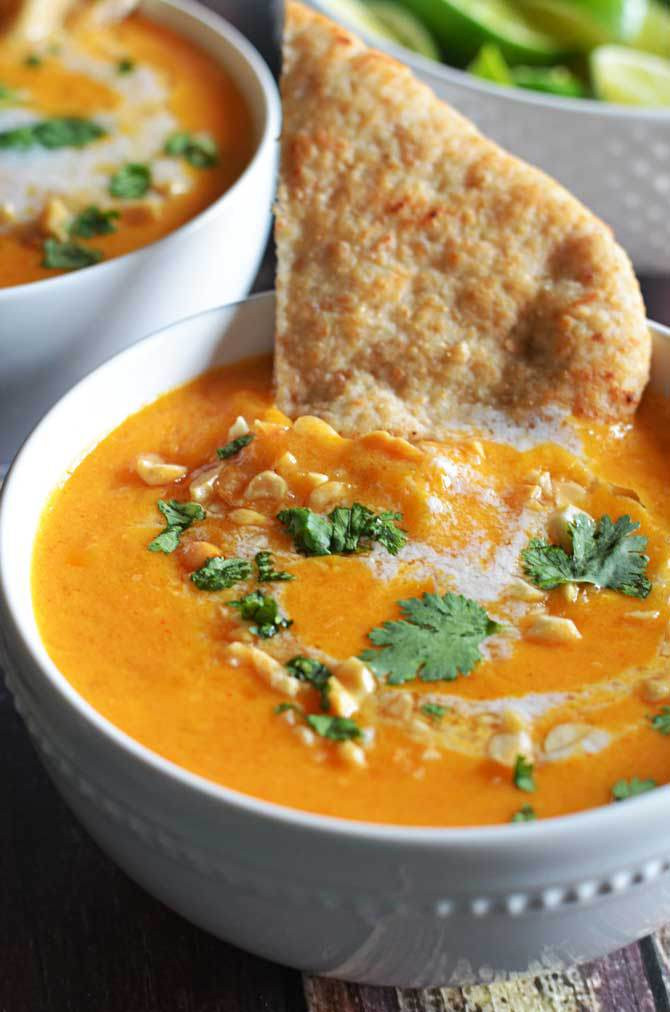 Curry Butternut Squash Soup  i've been cooking whatever
