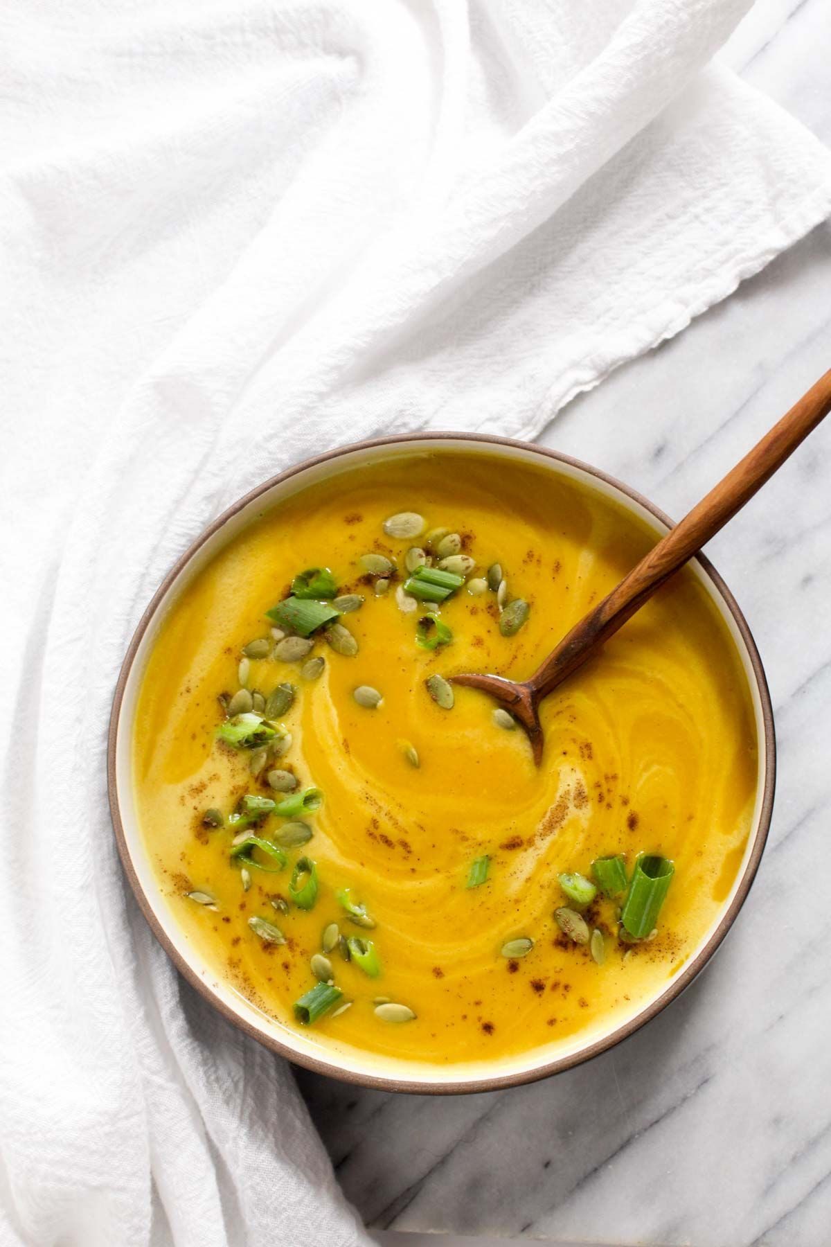 Curry Butternut Squash Soup  Curry Butternut Squash Soup